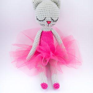maskotka baletnica kotka tutu spódnica z tiulu