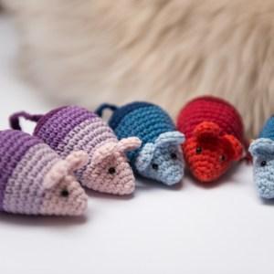 Mysz dla kota Ombre z kocimiętką