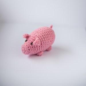 Zabawka dla kota świnia z kocimiętką
