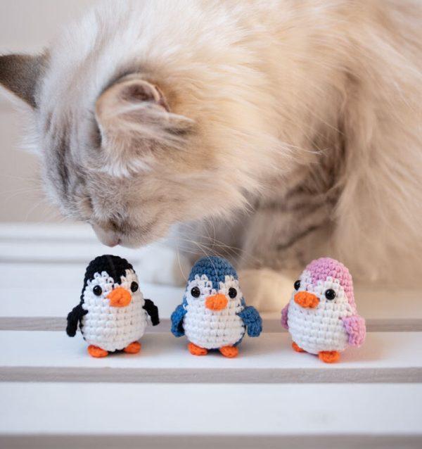zabawka dla kota pingwin