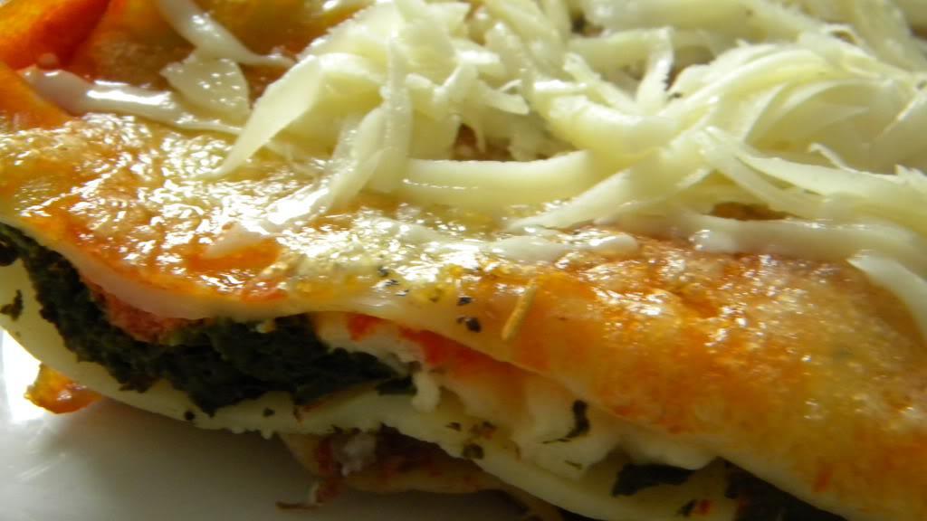 Lasagna cu pui și spanac