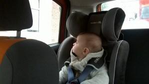 Cosmin in masina