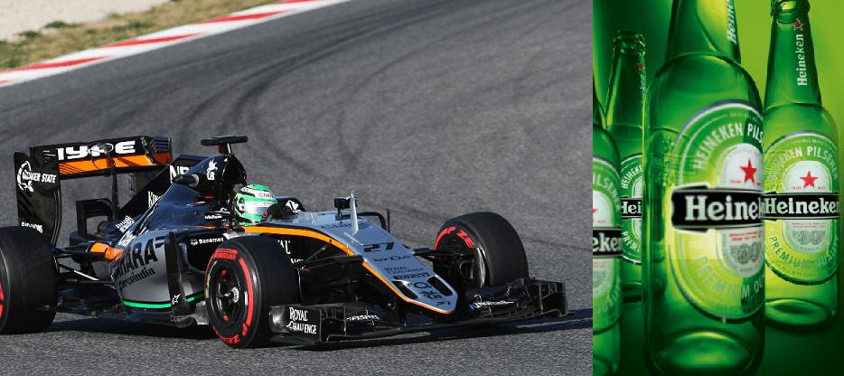 Why Heineken Will Sponsor The Sahara Force India F1 Team