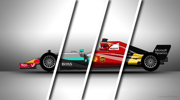 Make your own 2017 Formula 1 Livery with this Template