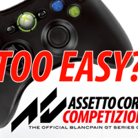 Opinion: are gamepads too easy to handle in Assetto Corsa Competizione?