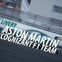 Design: Aston Martin Cognizant F1-team ACC-Livery