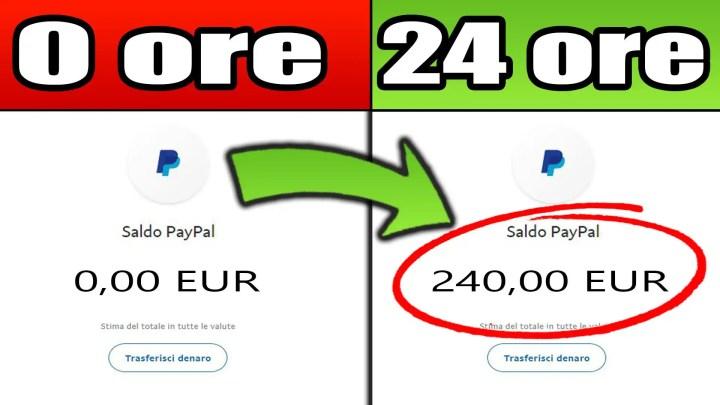 Come Guadagnare €240 In 24 ORE! (Modo FACILE Per Fare Soldi Online)