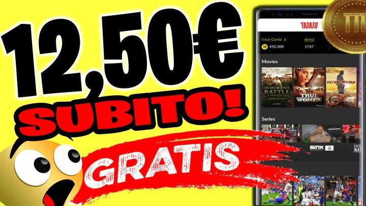 Guadagnare 12,50€ SUBITO e Molti altri Soldi e Premi Guardando Film!