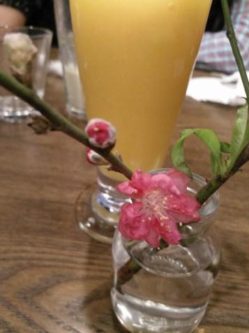 Nice mango smoothie