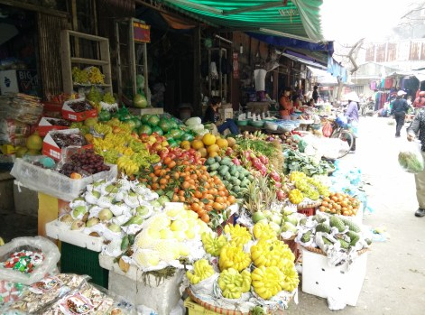 Fruit stores opened mostly
