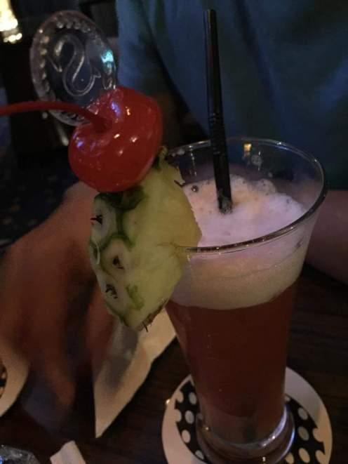 Cocktail at Sheraton bar