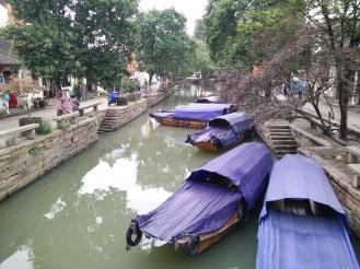 Wooden boats as transportation