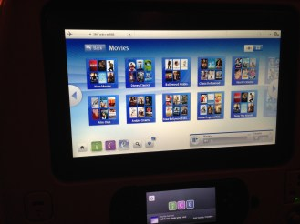 Cool on-board entertainment