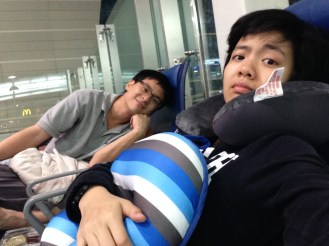 Overnight at the airport