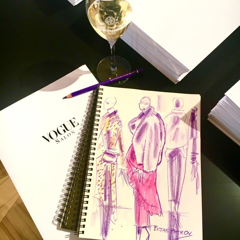 At VOGUE SALON of Berlin Fashion Week