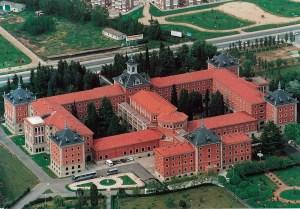 Foto aérea del Seminario de Salamanca