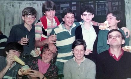 Evocaciones al atardecer XXI: Parroquia de San Ignacio (Rémar, Baracaldo) Juventud  parroquial Róntegui (primera parte)
