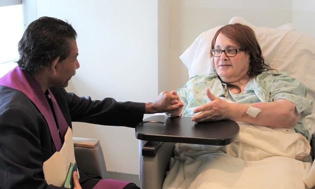 El servicio pastoral del hospital, terapia especial para los enfermos