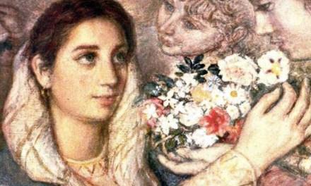 Con flores a María (soneto)