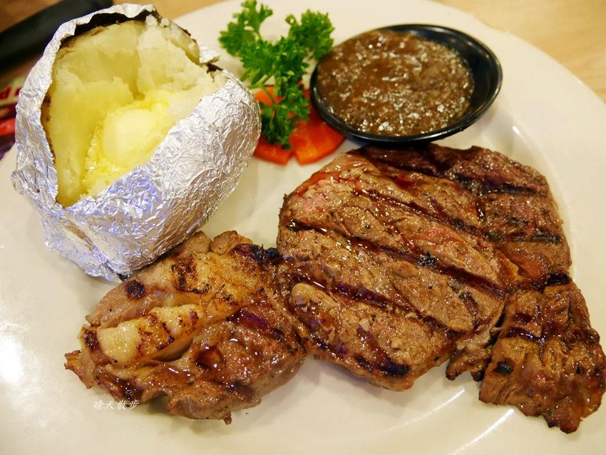 台中吃到飽 龐德羅莎牛排沙拉中港店PONDEROSA~點排餐送沙拉吧吃到飽 小資家庭善用週三家庭日省更多
