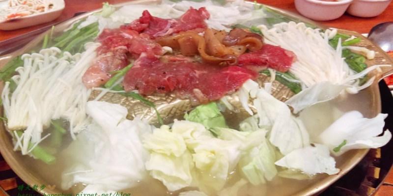 台中吃到飽︱韓香亭~台中銅盤烤肉吃到飽 韓式泡菜鍋、韓式海鮮煎餅、泡菜煎餅 還有四款小菜無限續