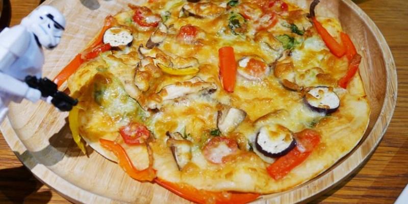 台中親子 JOY HOJA~披薩DIY 健康蔬食pizza自己做 禮客時尚館台中店(台中午茶生活節)