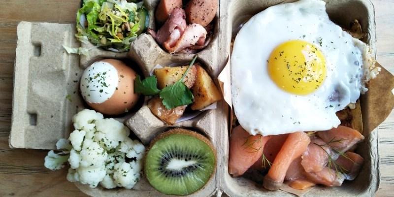 北屯早午餐 憲賣咖啡熱河店 smile coffee丹麥咖啡館~北歐風情 哥本哈根蛋盒早餐好吸睛