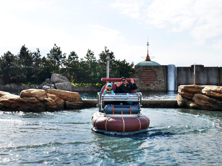 東京迪士尼海洋|發現港~水上逗趣船:老少咸宜不驚險 其實不是碰碰船