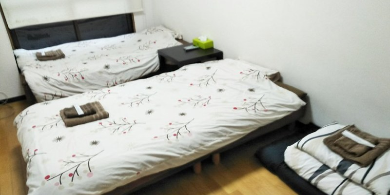 大阪住宿|心齋橋舒適公寓飯店~近日本橋站 自助式入住 附洗衣機、小廚房 十二歲以下兒童免費