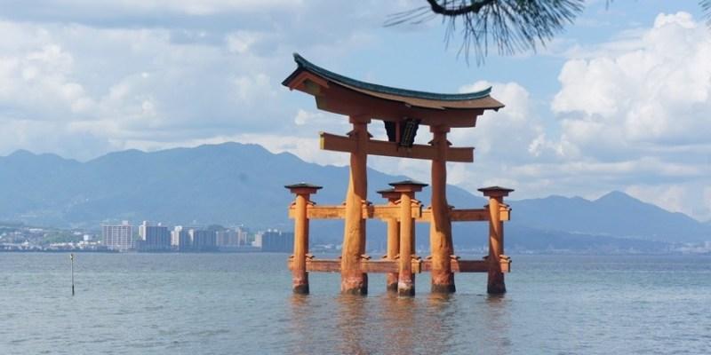 廣島景點|日本三景之一宮島~嚴島神社、海上鳥居 溫和小鹿 美味小吃(牡蠣丼、楓葉饅頭、竹輪)