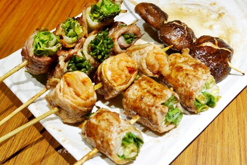 台中宵夜|兴焰炭火串燒~平價串燒深夜食堂 日本風情居酒屋 烤物、炸物、丼飯通通吃得到