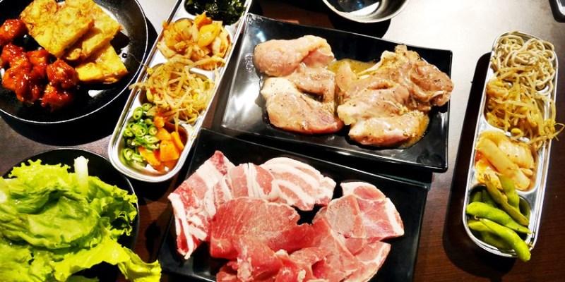 台中吃到飽 豬對有韓式烤肉吃到飽台中精武店~平價又豐富的韓式火烤兩吃 平日午餐吃到飽299元!