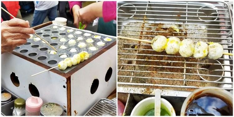 一中街美食|阿嬤鳥蛋/李記鳥蛋~原味一串6顆20元,吻仔魚、蝦仁一串5顆30元