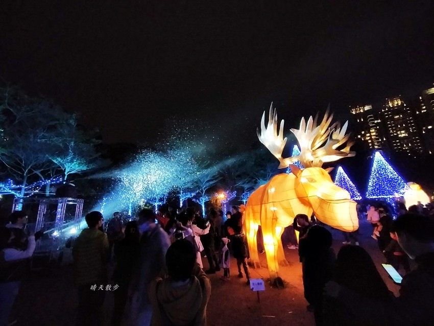 台中燈會 2020台灣燈會在台中,副展區文心森林公園戽斗星球動物晚上也好拍,還有人造雪喔!