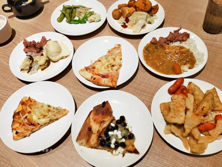 20201128012849 62 - 台中吃到飽 牛室炙燒牛排台中大墩店~點排餐附自助沙拉吧吃到飽,熱炒、熟食、披薩、飲料、甜點通通有,平日特餐299起,大墩路美食