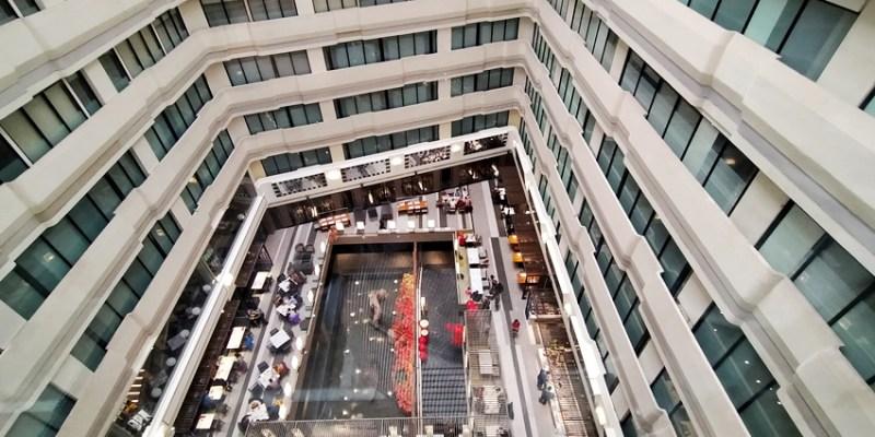 德立莊酒店西門館中庭餐廳~豐盛的中西式自助式早餐,選含早餐的住宿方案很超值