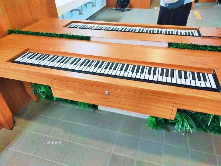 20210414164743 59 - 台中捷運 台中文心森林公園站,漂亮的森林系女廁裡有鋼琴!