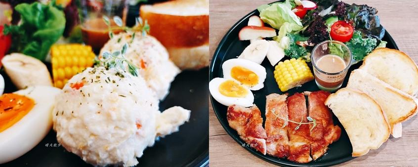 西區早午餐 7.335 Brunch 早午餐/義大利麵~精誠路自然系風格咖啡館 原型食物精緻早午餐