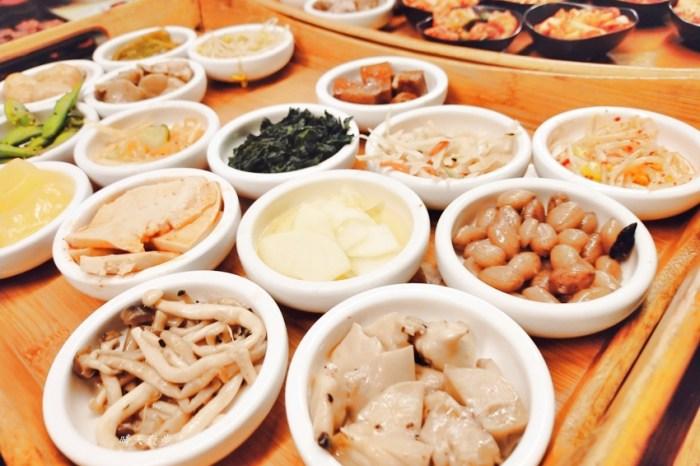 台中吃到飽|韓鄉韓國料理台中店/漢口店~推薦韓式銅盤烤肉,附贈豐富小菜吃到飽