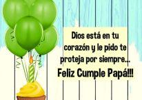 Imágenes cristianas de felicitación para el cumpleaños de Papá