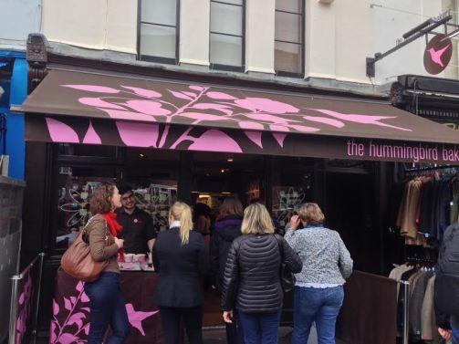 Hummingbird Bakery, Portobello Road Market