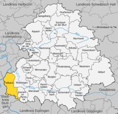 Einsatzgebiete Rems-Murr-Kreis