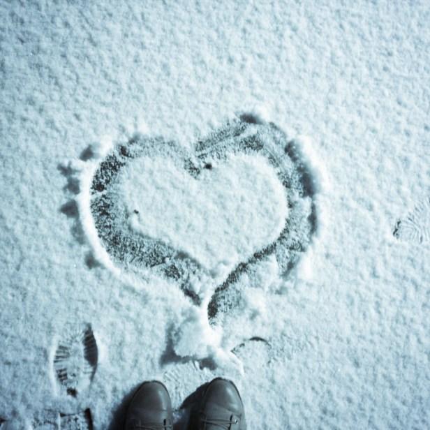 Ich liebe Schnee