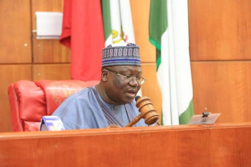 SARS: Senate President commends Buhari for acceding to the demand of Nigerians