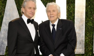advert banner Hollywood legend Kirk Douglas donates his entire £61m fortune to charity, leaves nothing to his son Michael Douglas
