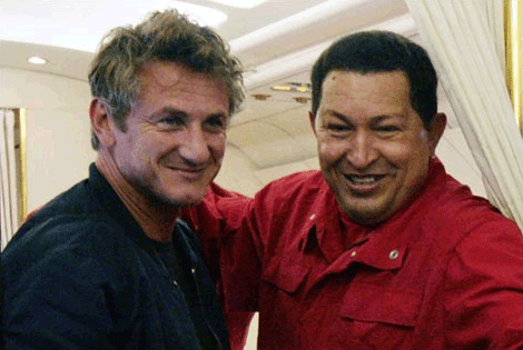 Sean Penn and BFF Hugo Chavez