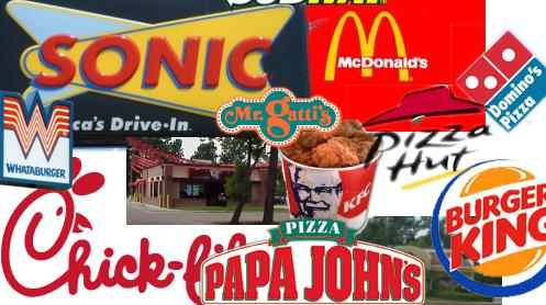 favorite fast food joints