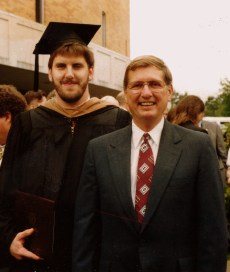 David R. Kenney & Dr. Bobby R. Bush, Professor of Management, May 4, 1991