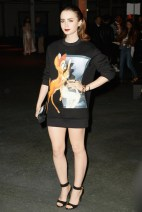 Lily Collins - Givenchy
