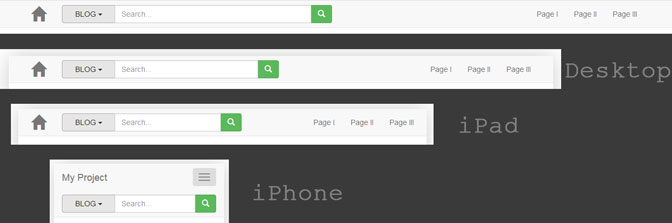 Bigger & Fixed Search Box with Dropdown in Bootstrap Navbar